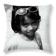 Baywalk Gals Throw Pillow