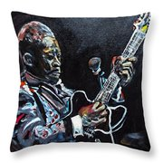 B.b. King Throw Pillow
