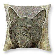 Bb Singing Throw Pillow