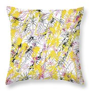 Bumble Bees Against The Windshield - V1cm89 Throw Pillow