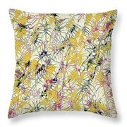 Bumble Bees Against The Windshield - V1cs65 Throw Pillow