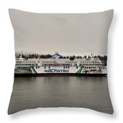 B.c. Ferries Coastal Renaissance Throw Pillow
