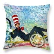 Bcs Cool Cat Throw Pillow
