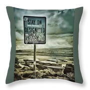 Be A Rebel Throw Pillow