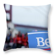 Be For Bern Throw Pillow