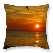 Be Free Throw Pillow