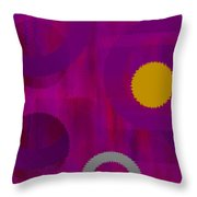 Be Happy II Throw Pillow