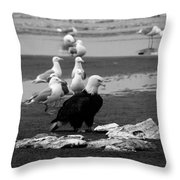 Be Hungry ...  Throw Pillow