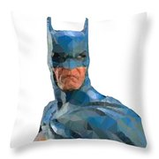 Be Scared Throw Pillow