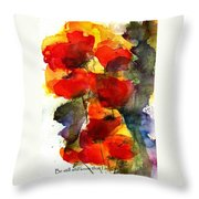 Be Still And Know That I Am God Throw Pillow by Anne Duke