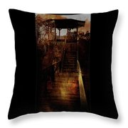 Be There By Sundown Throw Pillow