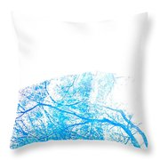 Be There Wherever Throw Pillow