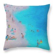 Beach Bliss Throw Pillow
