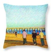 Beach Boys Throw Pillow