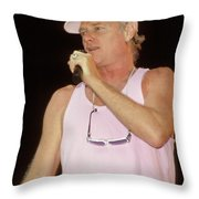 Beach Boys Mike Love Throw Pillow