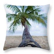Beach Coco Throw Pillow