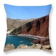 Beach Conclave  Throw Pillow