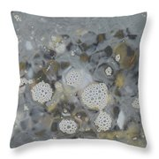 Beach Days Throw Pillow