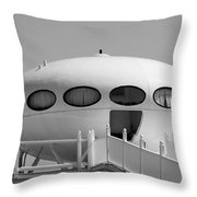 Beach Dome Home Throw Pillow