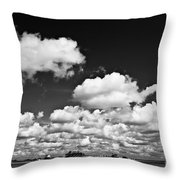 Beach Far And Wide Throw Pillow