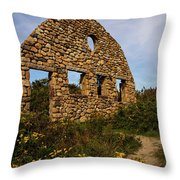 Beach Front Throw Pillow