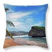 Beach Hideaway Throw Pillow