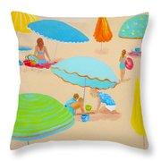 Beach Living Throw Pillow