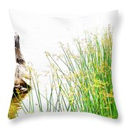 Beach Love Throw Pillow