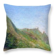 Beach Palms Throw Pillow
