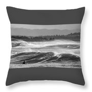 Beach People Throw Pillow