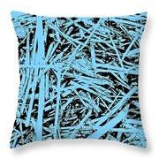 Beach Reeds Throw Pillow