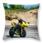 Beach Road Buell Throw Pillow