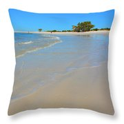 Beach Scene 3 Throw Pillow