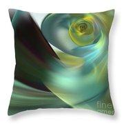 Beach Spiral Throw Pillow