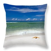 Beach Splendour Throw Pillow
