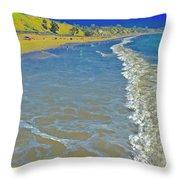 Beach Summer Midday Midweek Throw Pillow