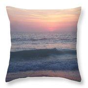 Beach Sunset 1 Throw Pillow