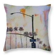 Beach Traffic - Sold Throw Pillow
