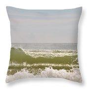 Beach Wave Throw Pillow