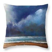 Beach Wish Throw Pillow