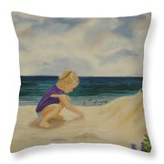 Beachcomber Throw Pillow