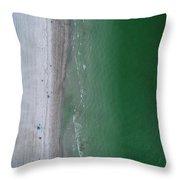Beachin Throw Pillow