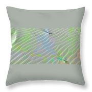 Beachscape Tranquility Throw Pillow