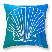 Beachside Shell Throw Pillow