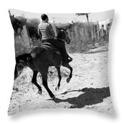 Beachward Throw Pillow