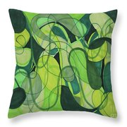 Beachy One Throw Pillow