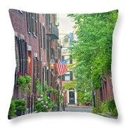 Beacon Hill Throw Pillow by Susan Cole Kelly