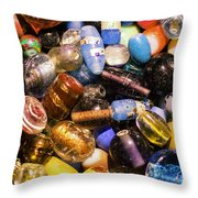 Bead Pile Throw Pillow