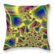 Beaming Throw Pillow