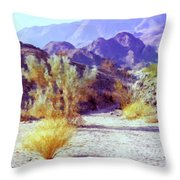 Bear Creek Trail Throw Pillow